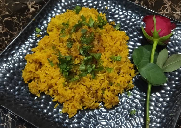 Simple Way to Make Top-Rated Ghiya Rice