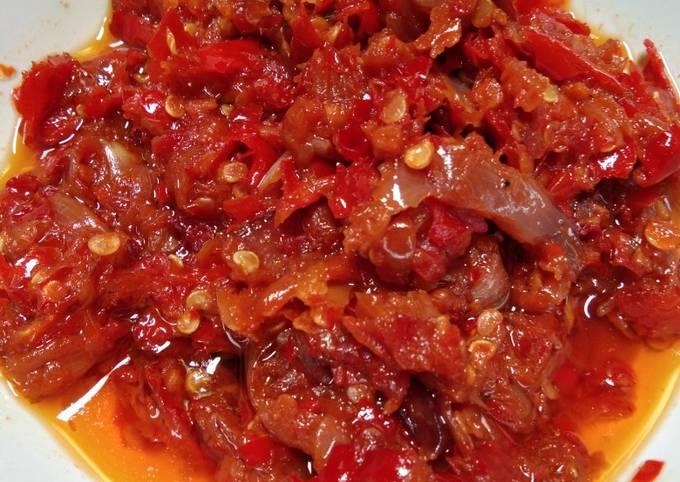 Cara Membuat Sambal bawang merah, Lezat Sekali