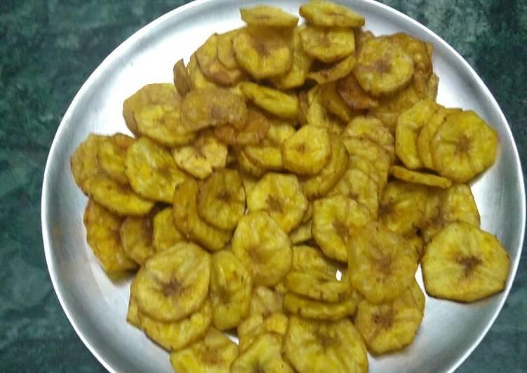 Simple Way to Make Top-Rated Raw banana chips