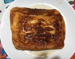Torrijas sin aceite y sin azúcar (hechas en el horno) Dulce de Semana Santa