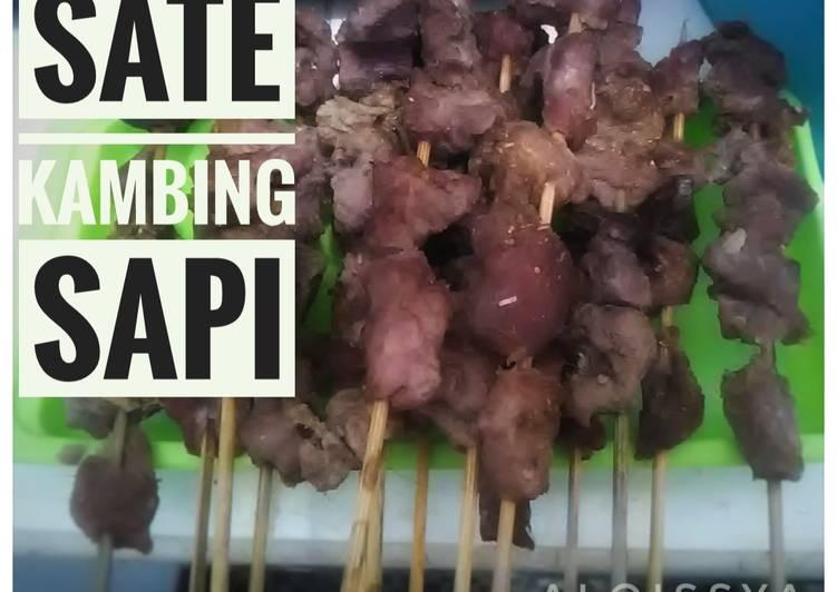 Sate Kambing Sapi Oven + Tips agar daging empuk dan tidak bau
