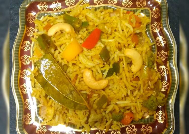 Recipe of Ultimate Fried Veg Biryani