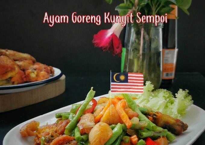Ayam Goreng Kunyit Sempoi