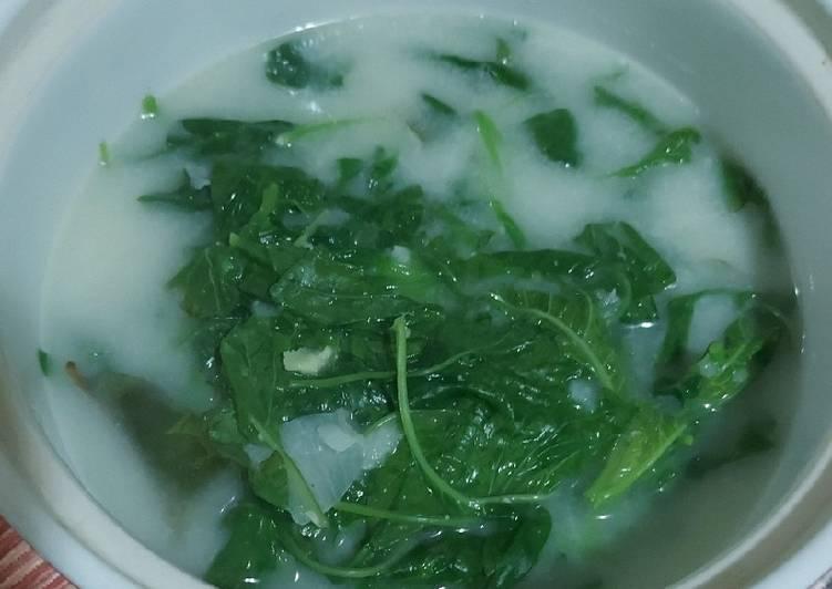 Cara Menyiapkan Sayur Bobor Bayam Resep Masakanku