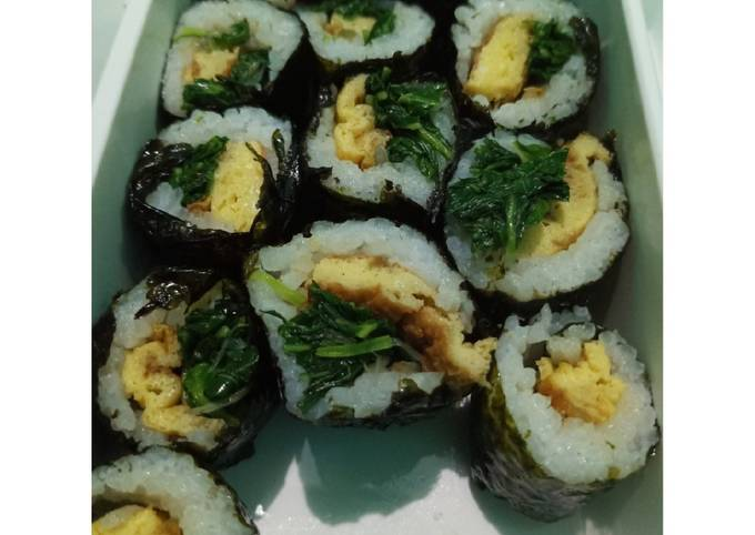 Sushi ala kadarnya🤭 buat bekal anak