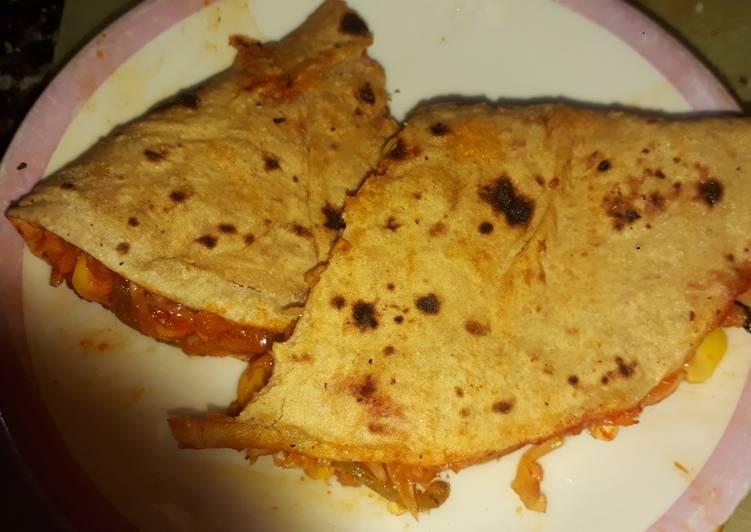 Recipe of Perfect Chappati grill sandwiches