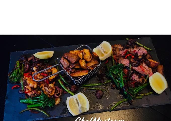 ChefMrstorm's Surf and Turf Platter