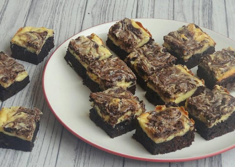 Cheesecake Brownies Panggang