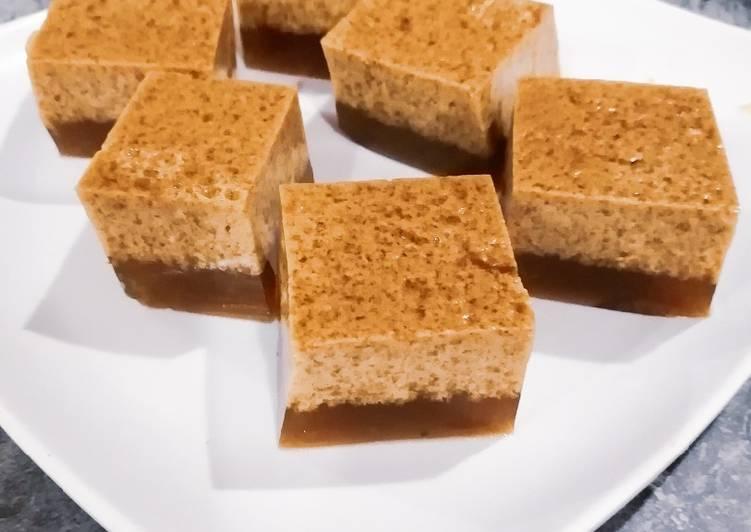Cara Mudah Masak: Agar Agar Santan Gula Merah  Terbaru