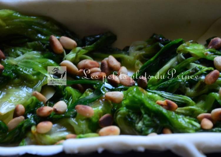 Recette antigaspi : la quiche de salades
