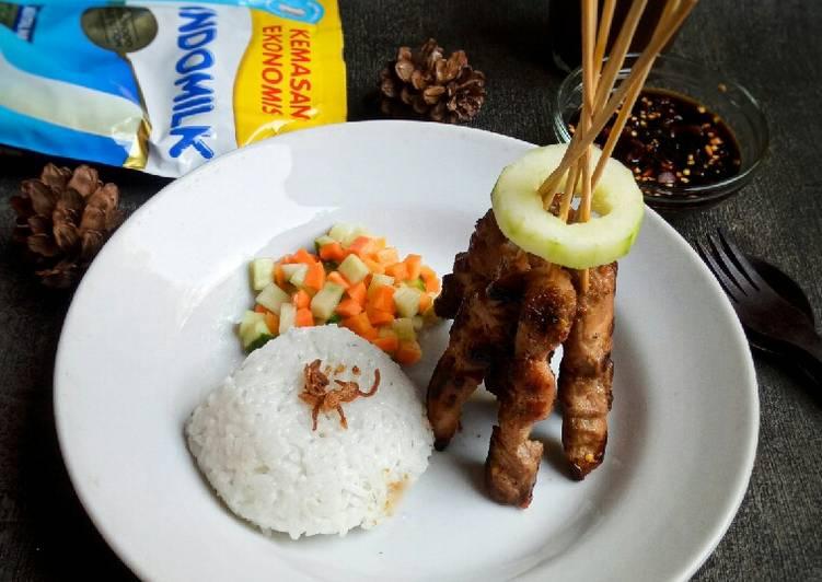 Sate Ayam Pedas Manis - cookandrecipe.com