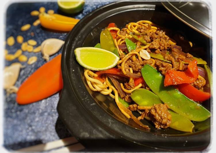 Recipe of Perfect Satay beef noodles