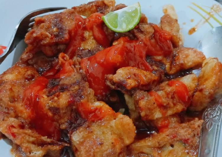 resep cara membuat Batagor ikan tenggiri