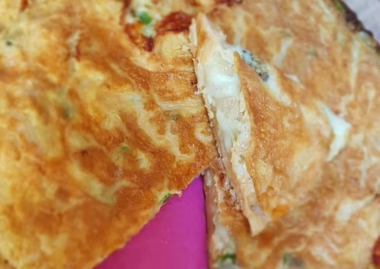 Easiest Way to Make Award-winning Spanish omelette