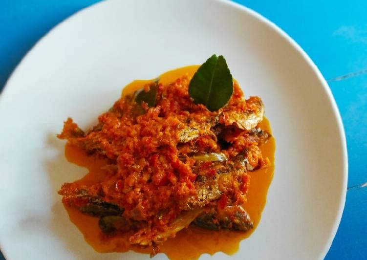Ikan kembung masak woku