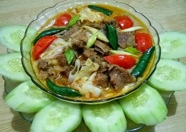 Tongseng Daging Sapi Rice Cooker (ala slow cooker)