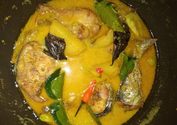 Fish lemon yelow asam pedas