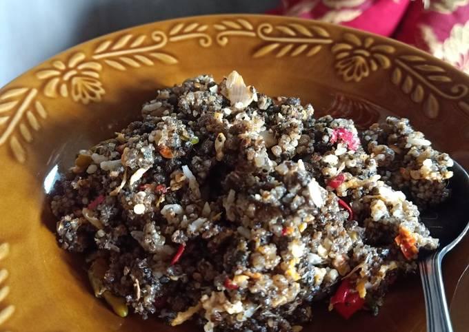 Tiwul goreng