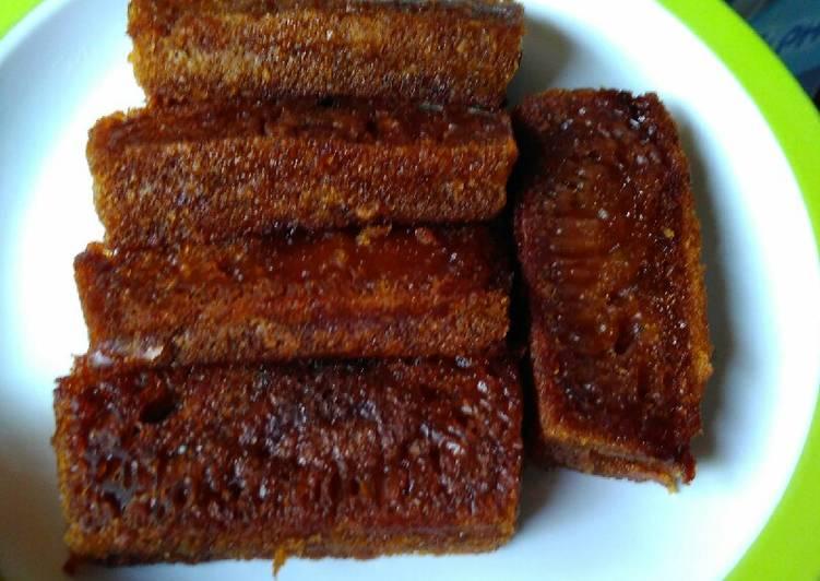 cara masak Kue sarang semut no bake - Sajian Dapur Bunda