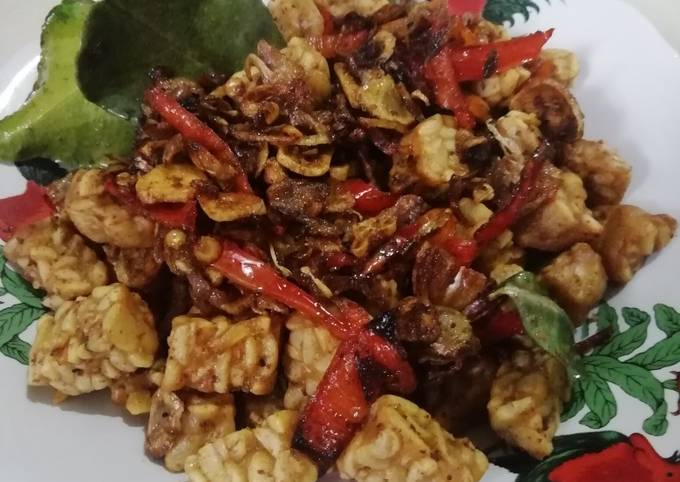 tempe goreng sambal embe - resepenakbgt.com