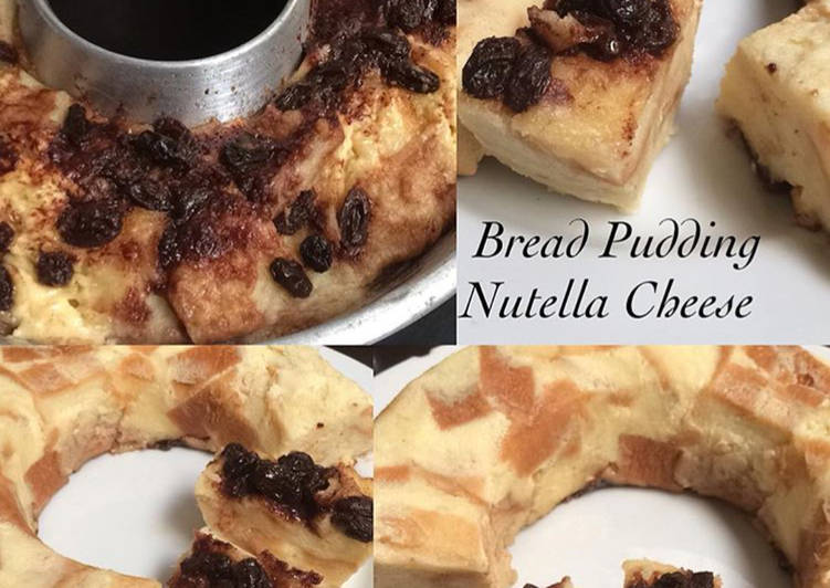 Bread Pudding Nutella Cheese #dapurahlia