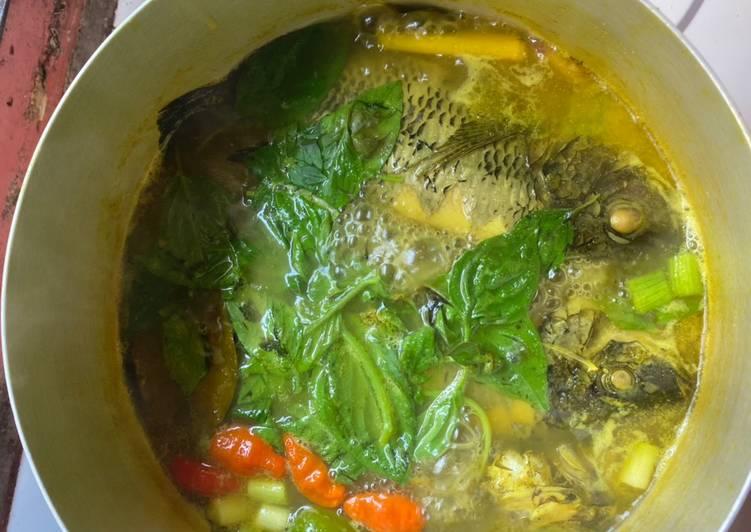 6. Pindang Ikan Mujair Asam Pedas Gurih