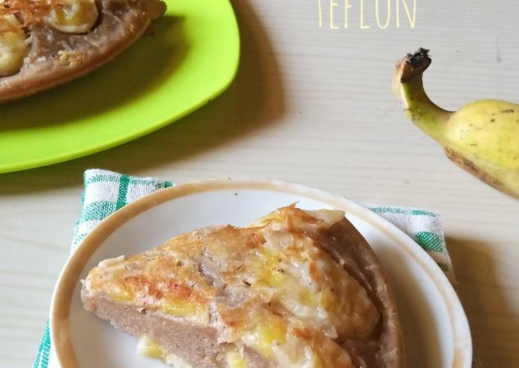 Kue Pisang Keju Teflon