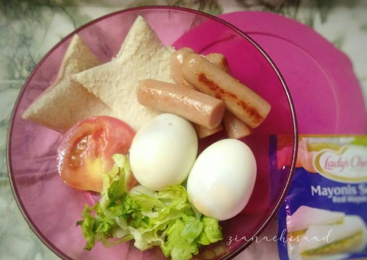Telur dan sosej