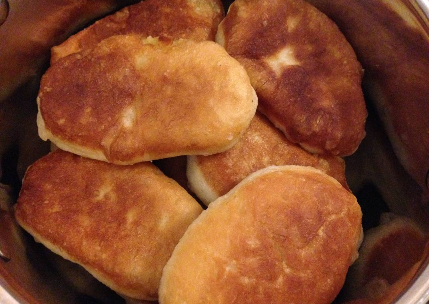 Воздушное тесто для пирожков жареных с фото