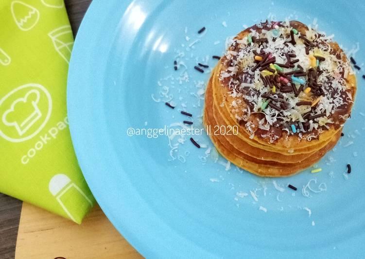 Resep Oat Carrot Pancake Paling Mudah
