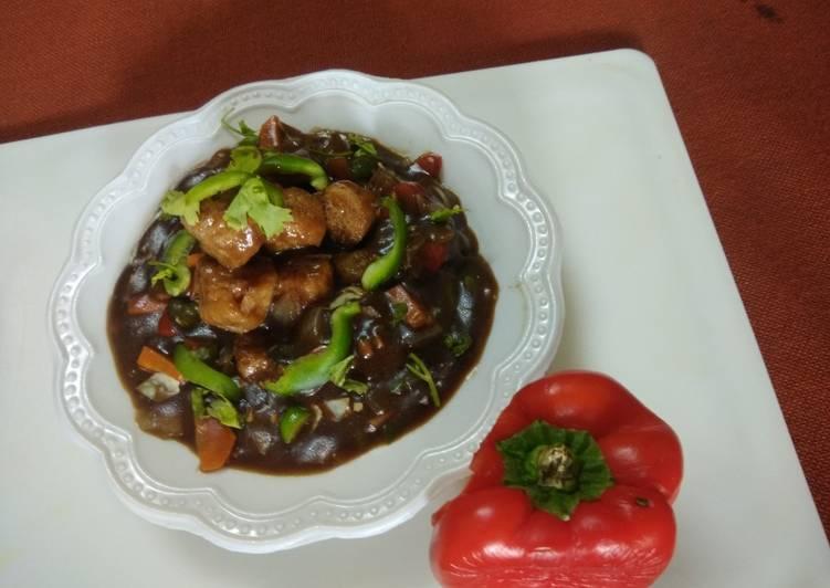 Soyabean Manchurian Gravy