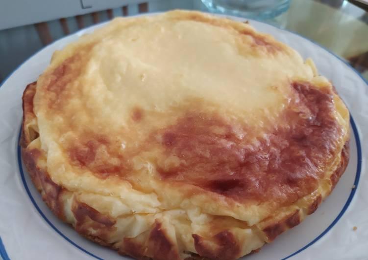 Tarta de queso al horno