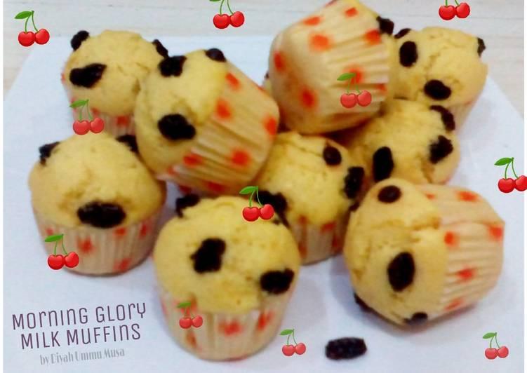 Morning Glory Milk Muffins