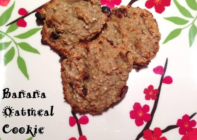 Recipe: Appetizing Banana Oatmeal Cookie