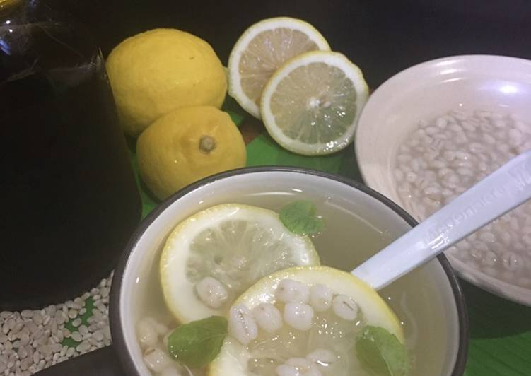 Barli Lemon Madu - resepipouler.com