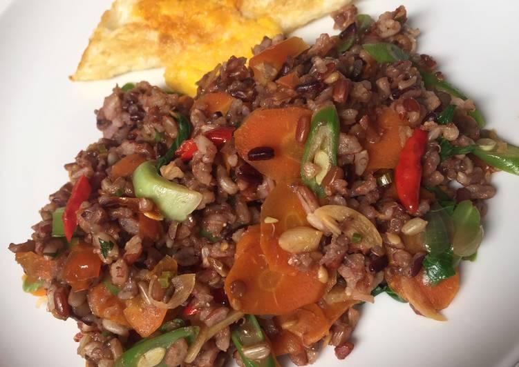 Nasi goreng sayuran (Diet PCOS)