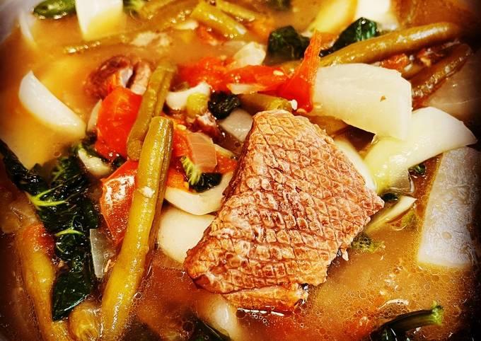 Instant Pot/Air fryer Pork Sinigang
