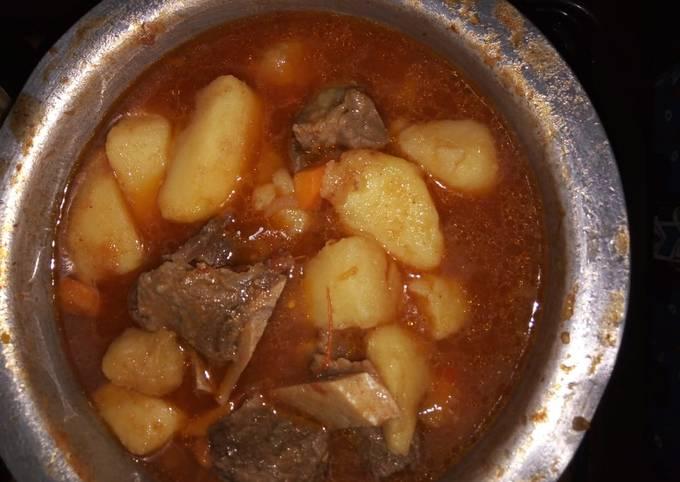 Beef stew(tumbukiza)