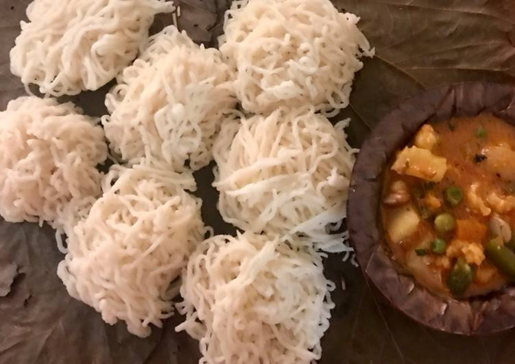 10 Minute Step-by-Step Guide to Prepare Super Quick Homemade Instant rava idiyappam
