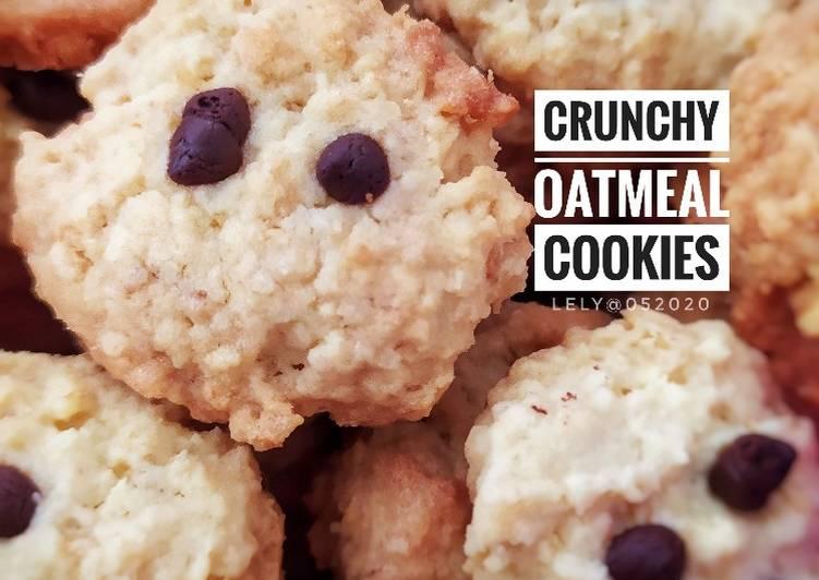 Crunchy Oatmel Cookies