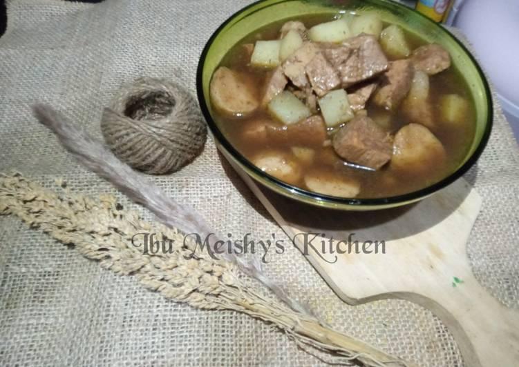 Rawon Daging Bumbu jadi😁