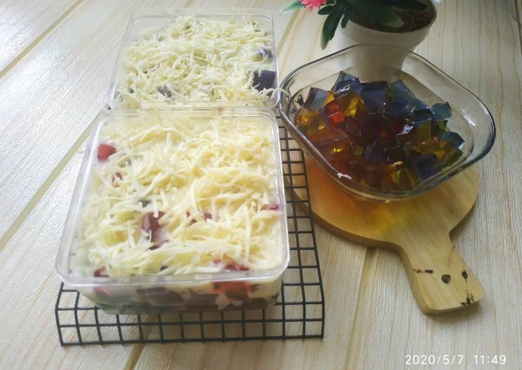 Salad Jelly Rainbow