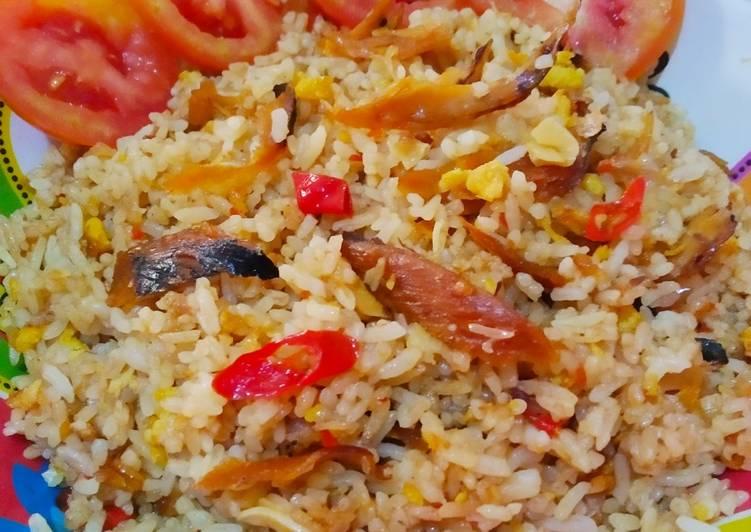 Fried rice cue tongkol