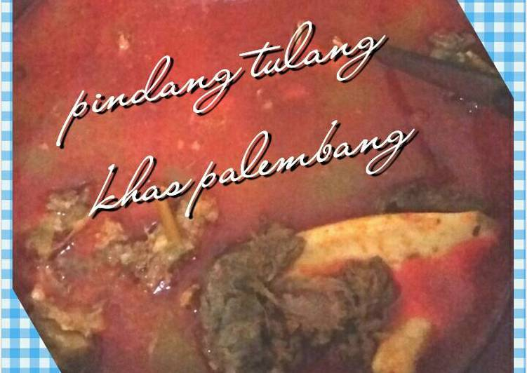 Pindang Tulang khas Palembang (resep ibu)