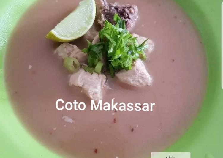 Resep Coto makassar daging ayam Yang Gampang Lezat