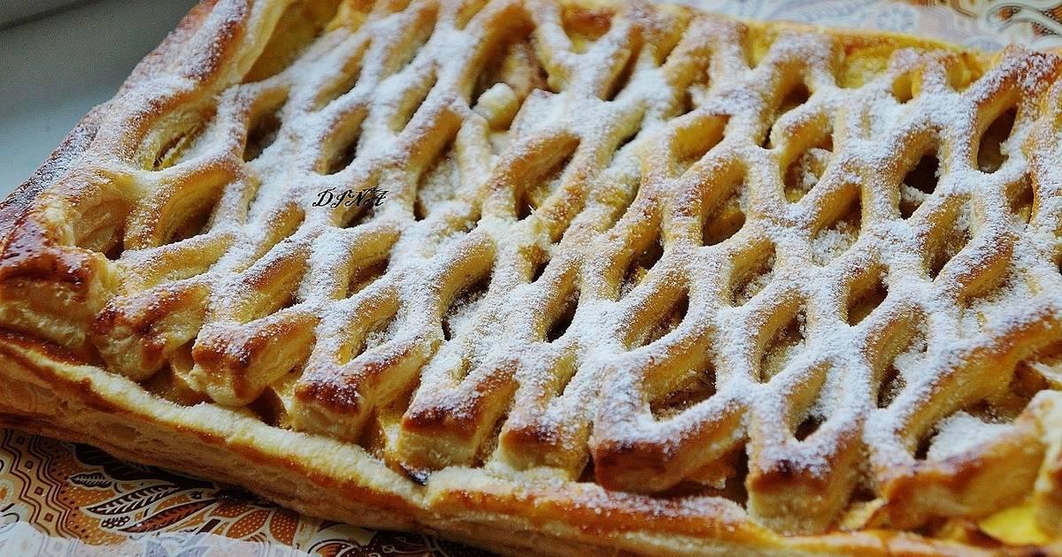 рецепты пирогов из слоеного теста с фото цвести, любовь