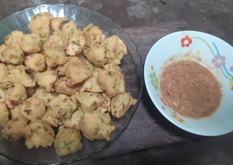 resep cara buat Batagor Tahu Sambal kacang