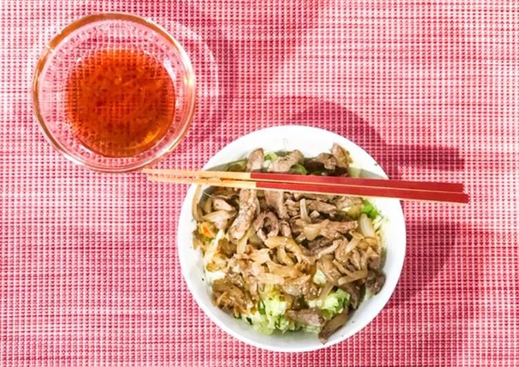 Comment Préparer Appétissant Bo Bun au boeuf