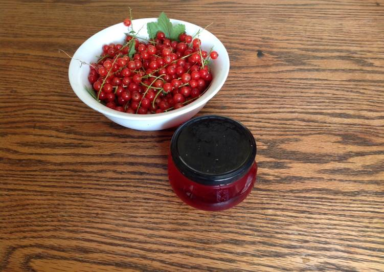 Steps to Prepare Perfect Redcurrent jelly