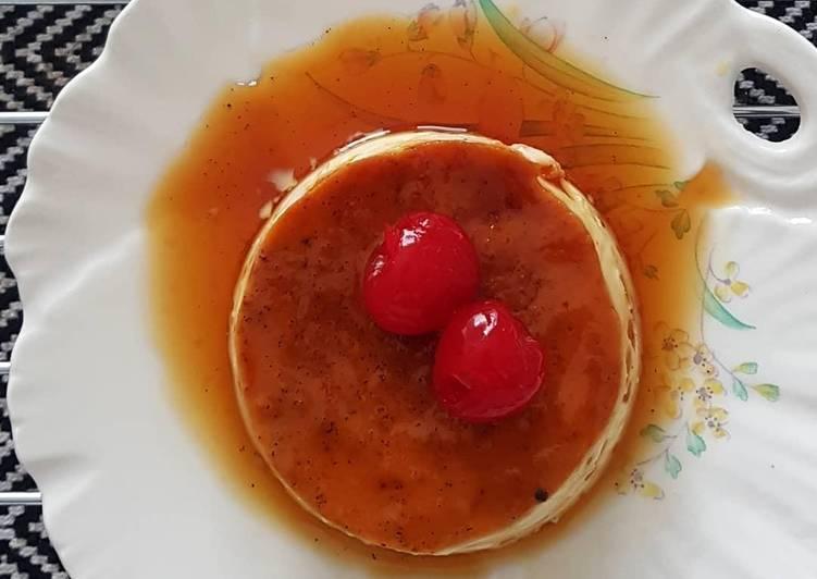 Caramel Flan Pudding